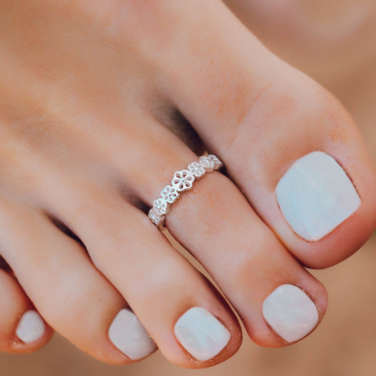Daisy Toe Ring 2