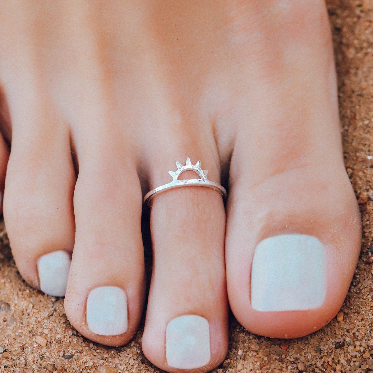 Sunset Toe Ring 3