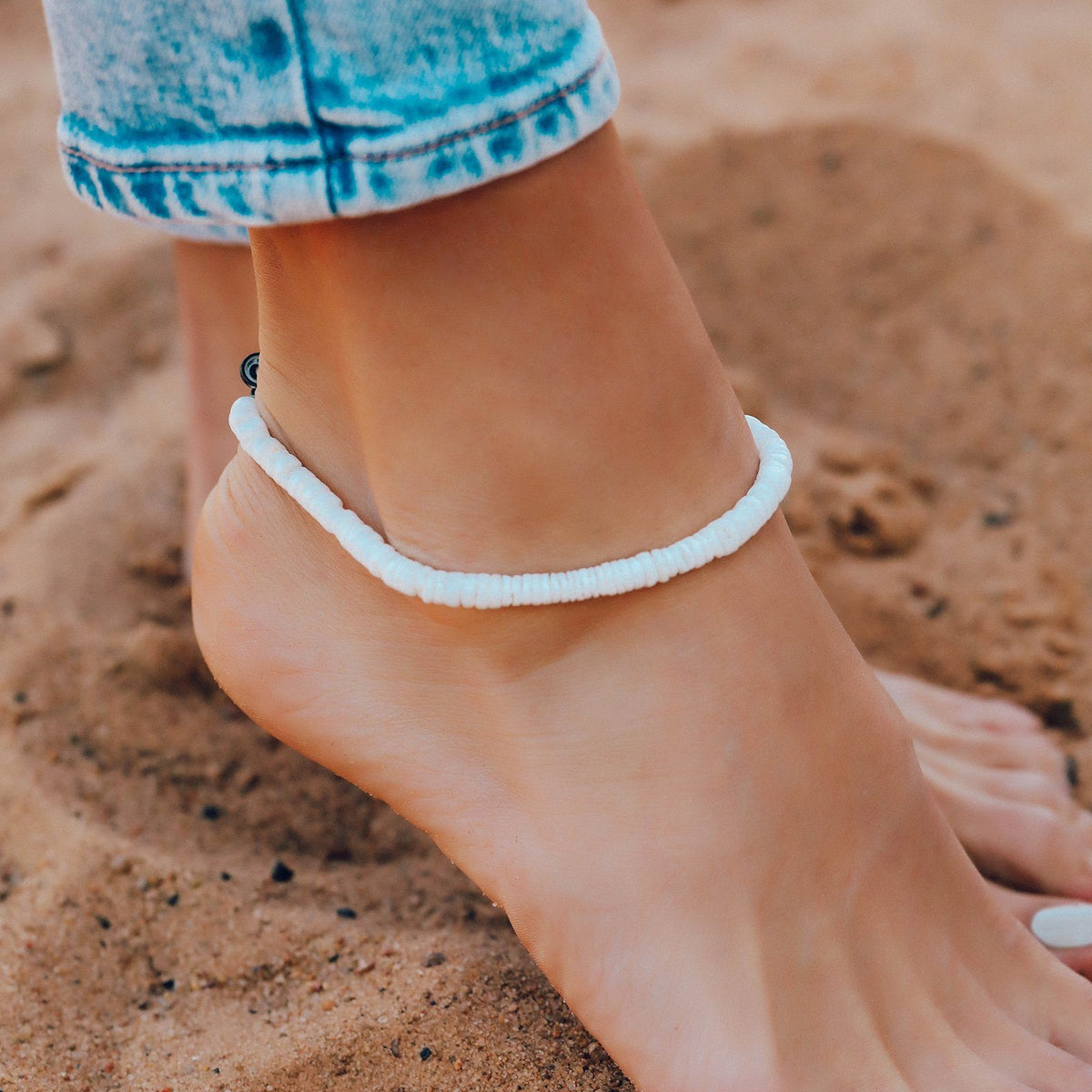 Puka Shell Anklet 2