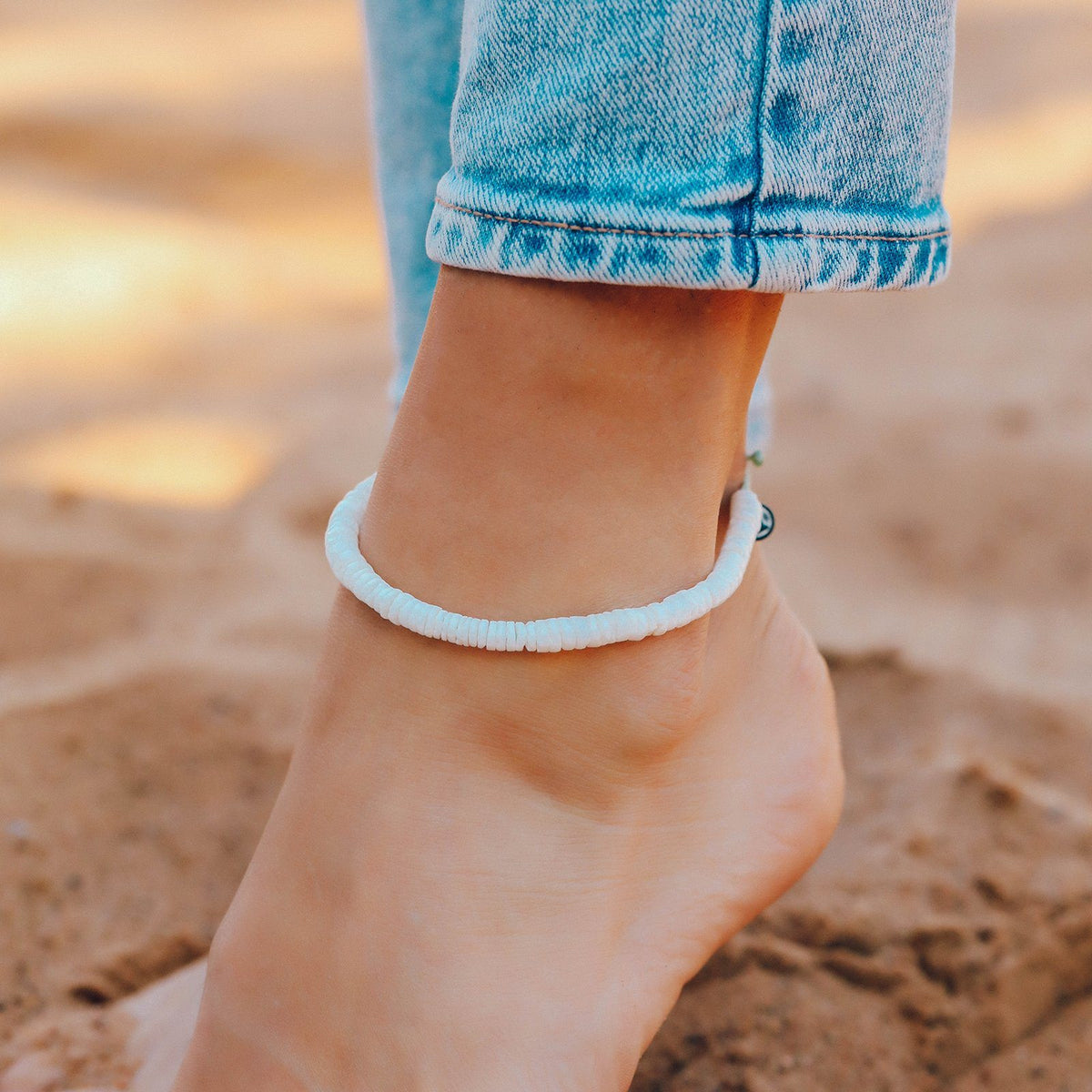 Puka Shell Anklet 3