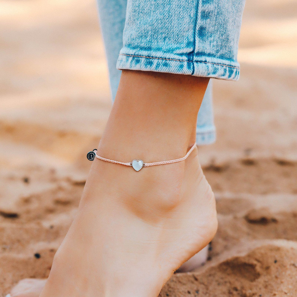 Heart of Pearl Anklet 2