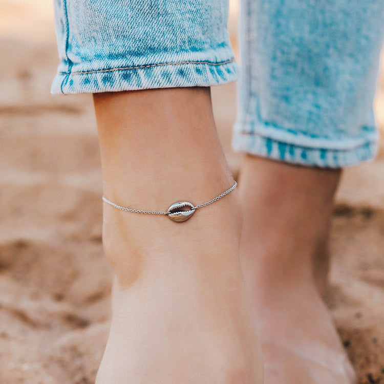 Cowrie Chain Anklet