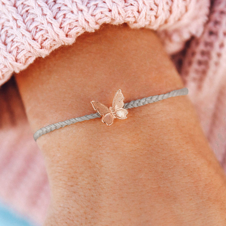 Butterfly in Flight Charm