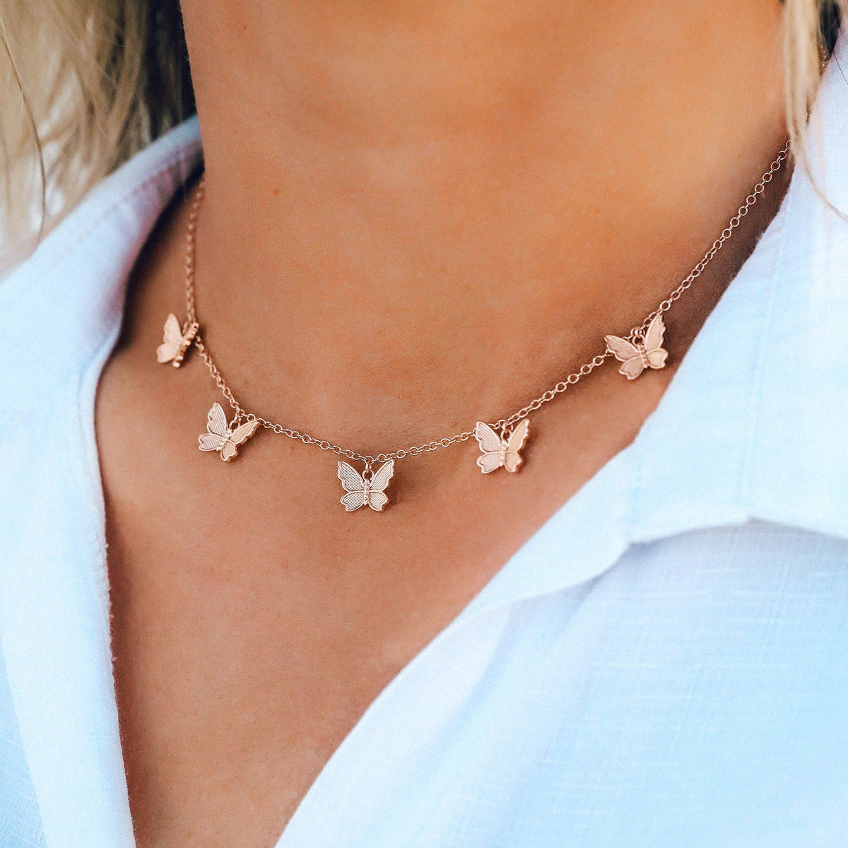 Butterfly In Flight Choker 4