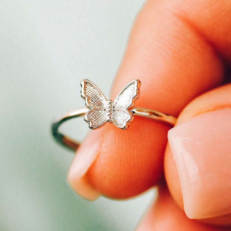 Butterfly In Flight Ring 3