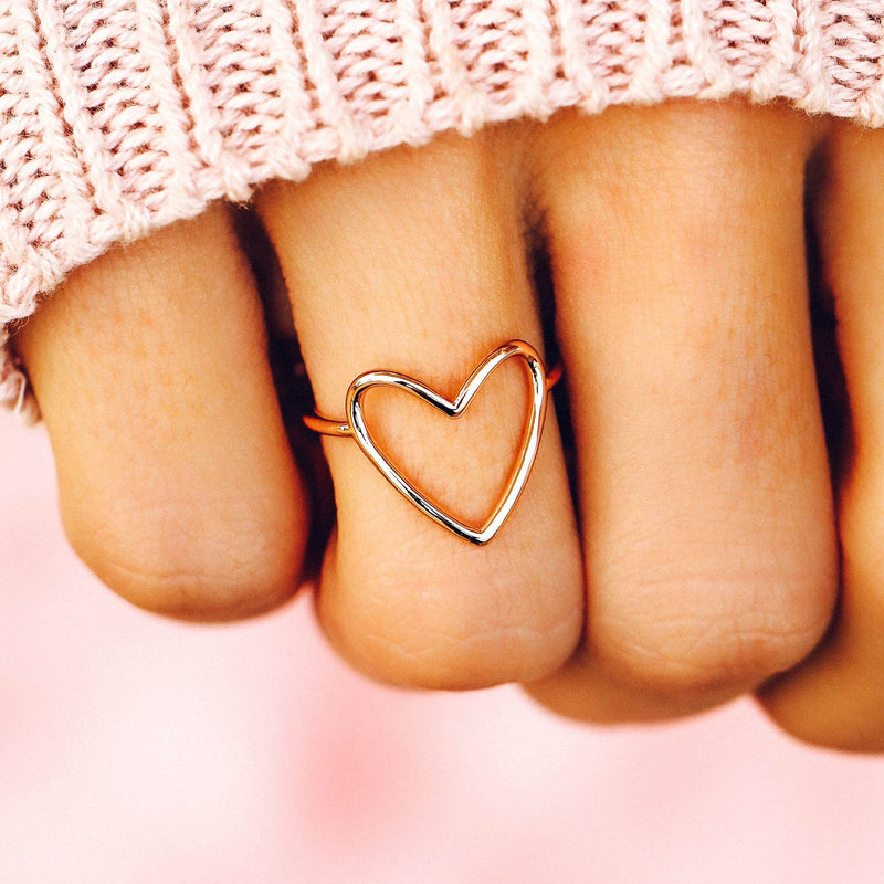 Statement Heart Ring 5