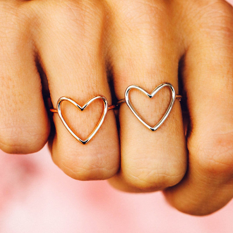 Statement Heart Ring 3