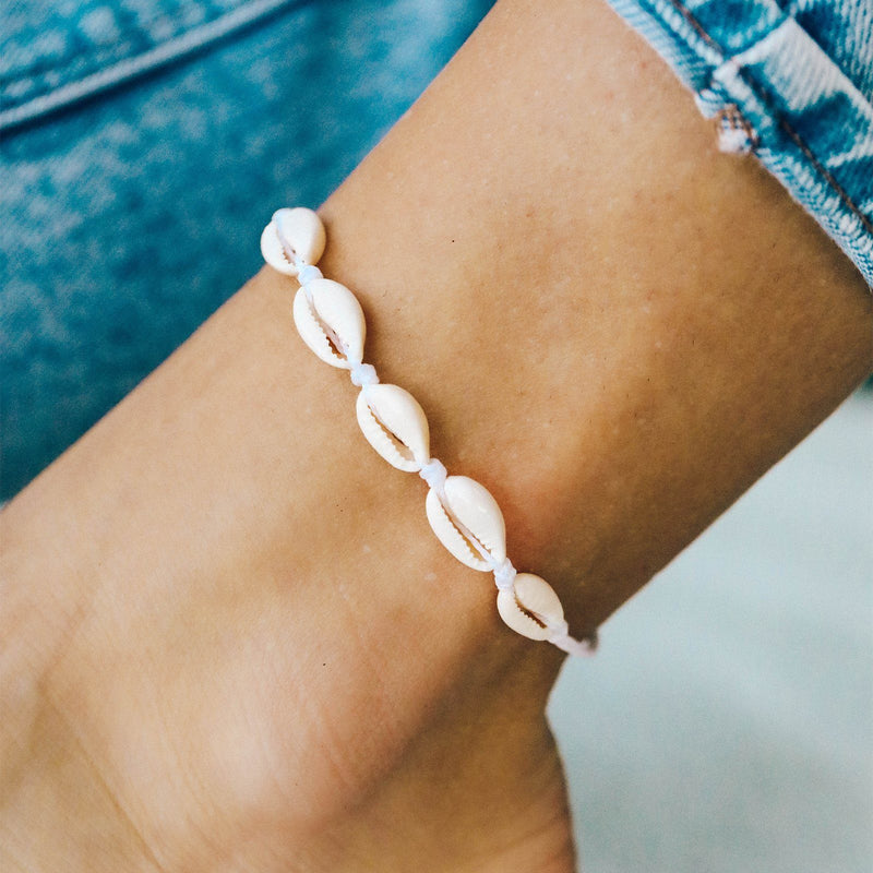 Knotted Cowries Anklet 3