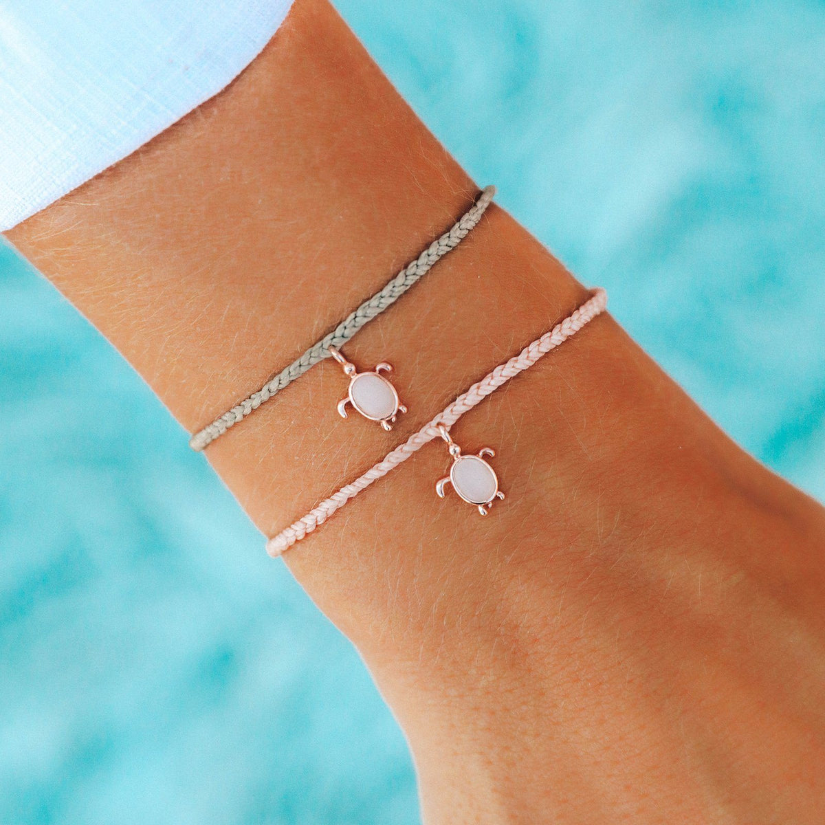 Rose Gold Save the Sea Turtles Charm 5