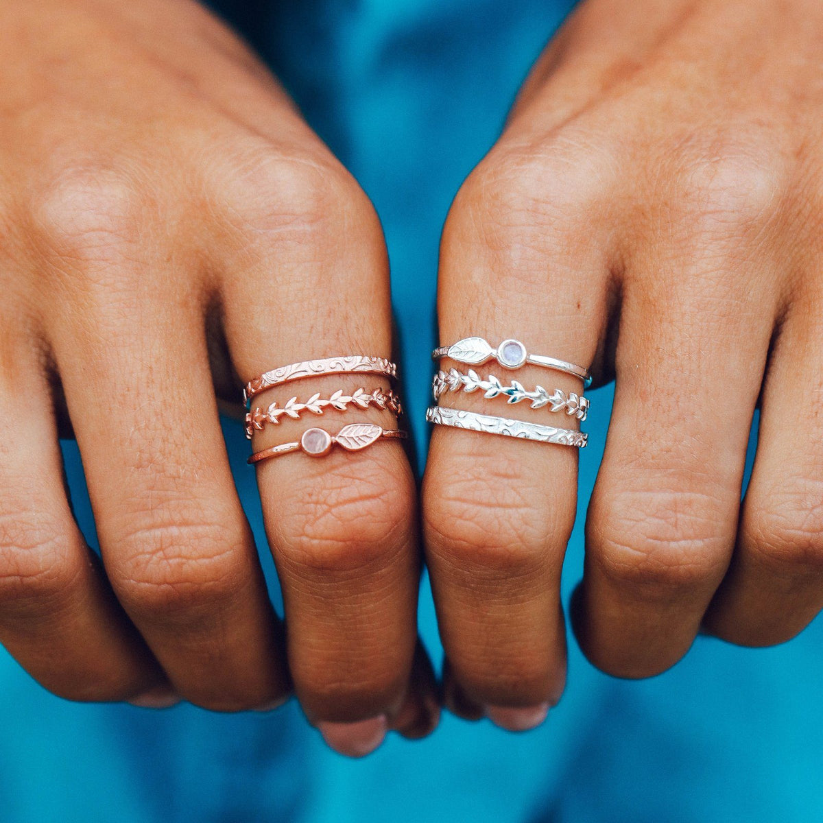 Meadow Ring Stack | Pura Vida Bracelets