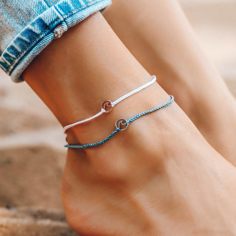 Mini Wave Charm Anklet 7