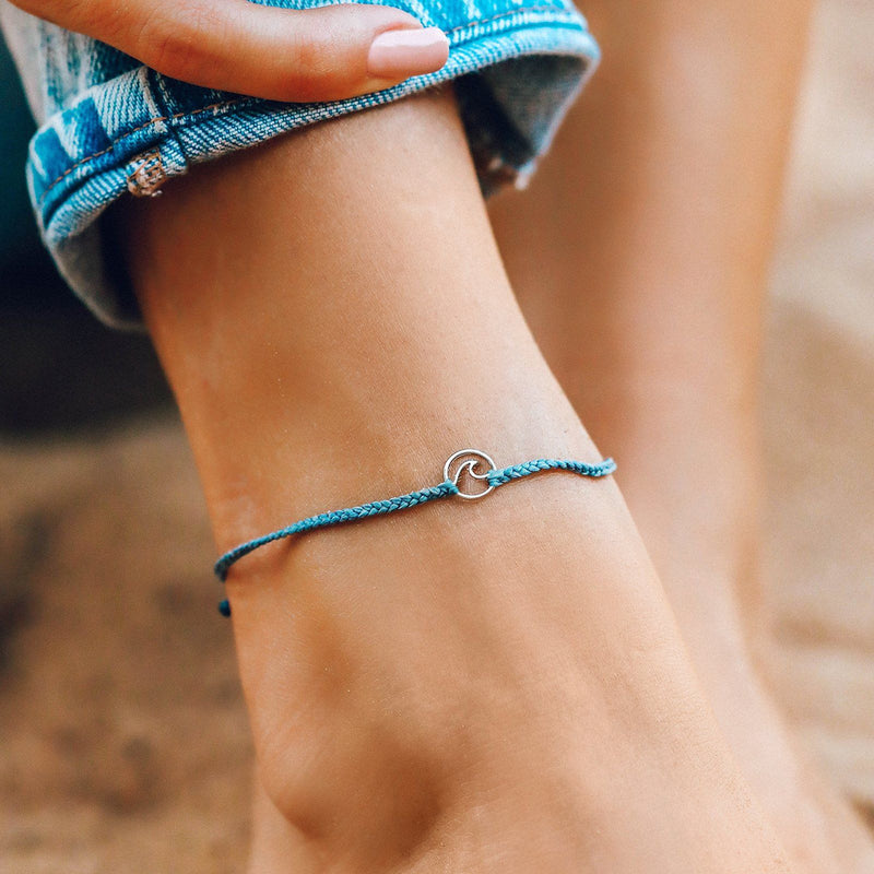 Mini Wave Charm Anklet 5