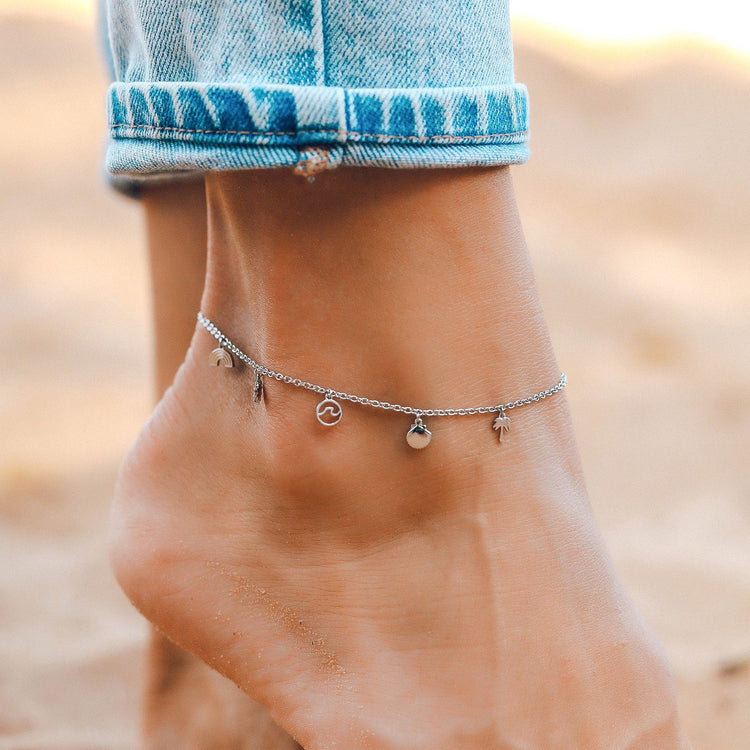 Maui Charms Anklet