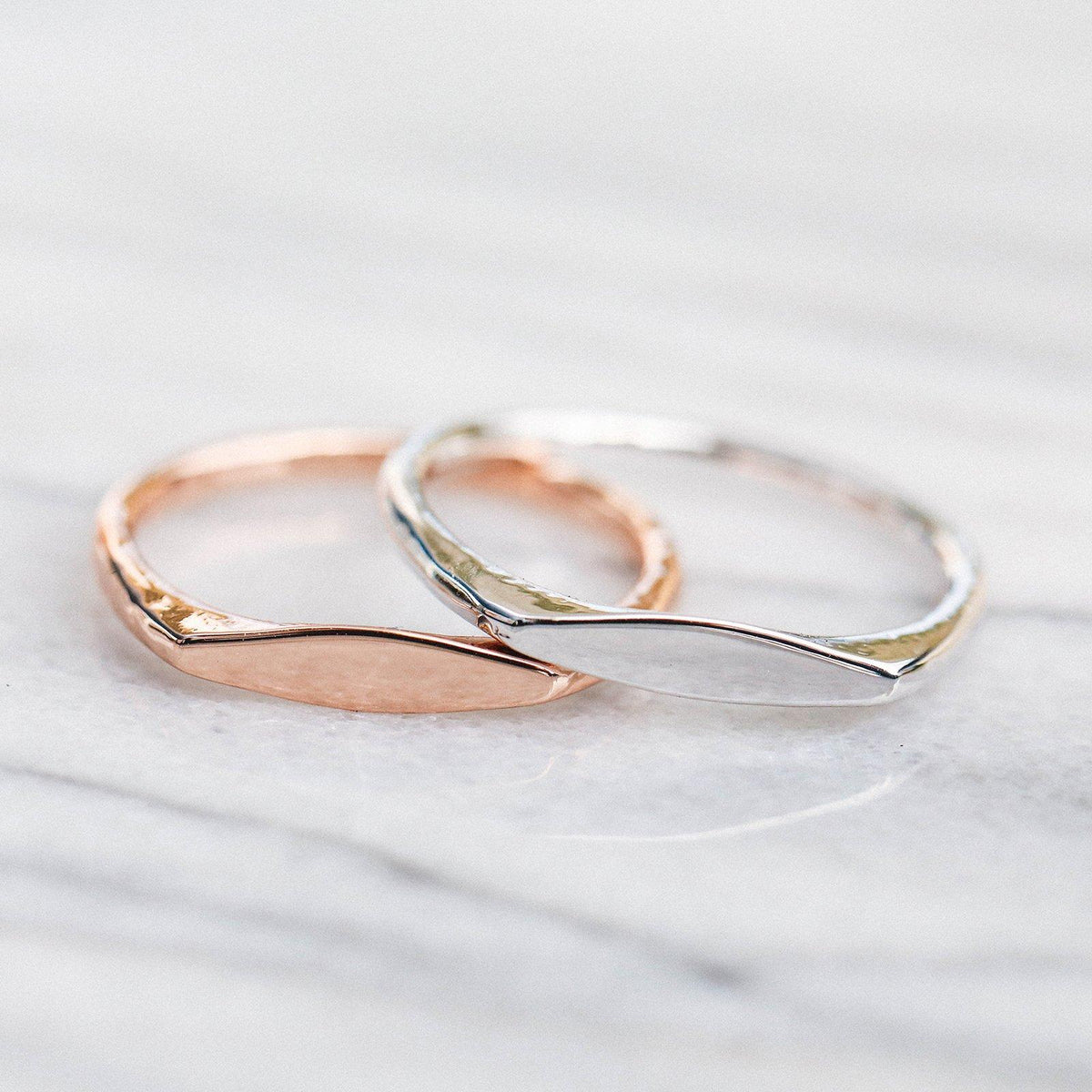 Engravable Stacking Ring 7
