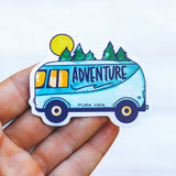 Adventure Van Sticker Image 2