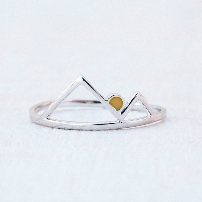 Silver Sunrise Ring 5