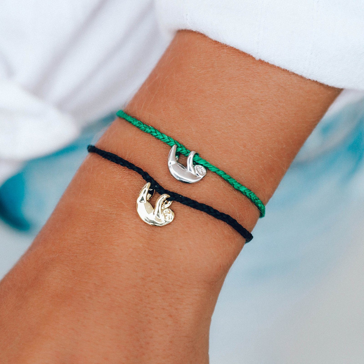Save the Sloths Charm 5