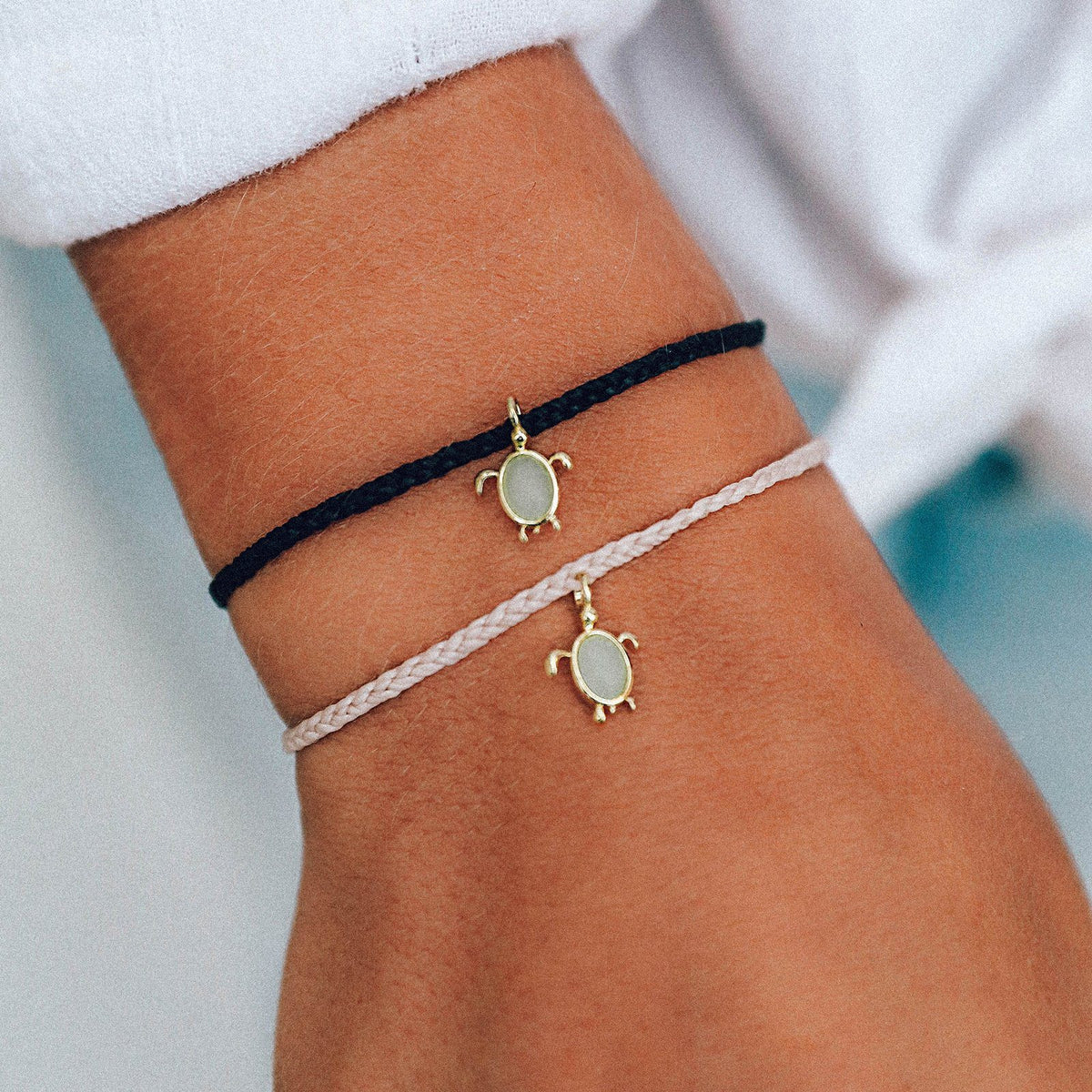Gold Save the Sea Turtles Charm 3