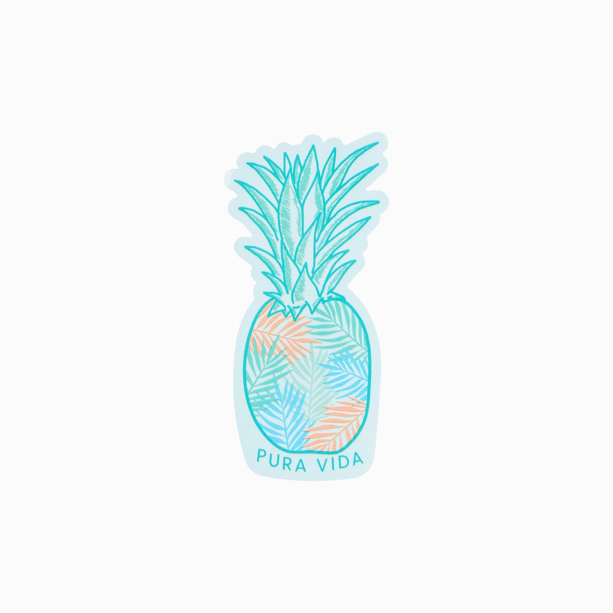 Pineapple Palm Sticker