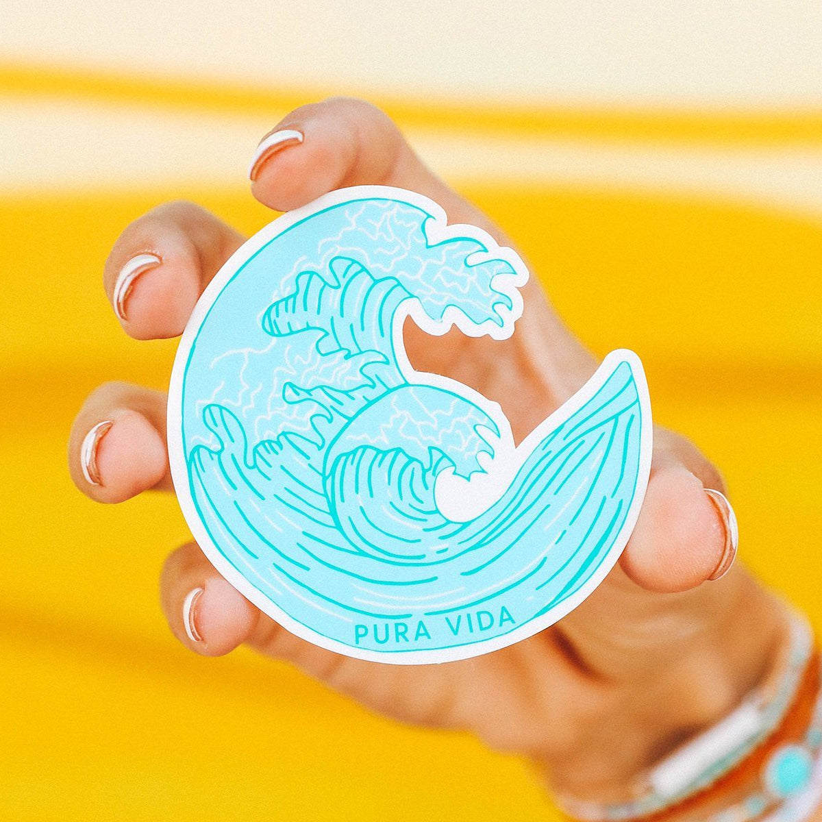 Crashing Waves Sticker