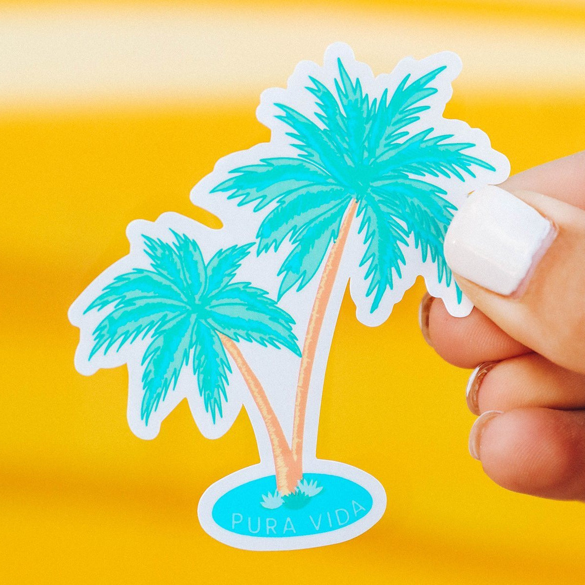2 Palms Sticker 2