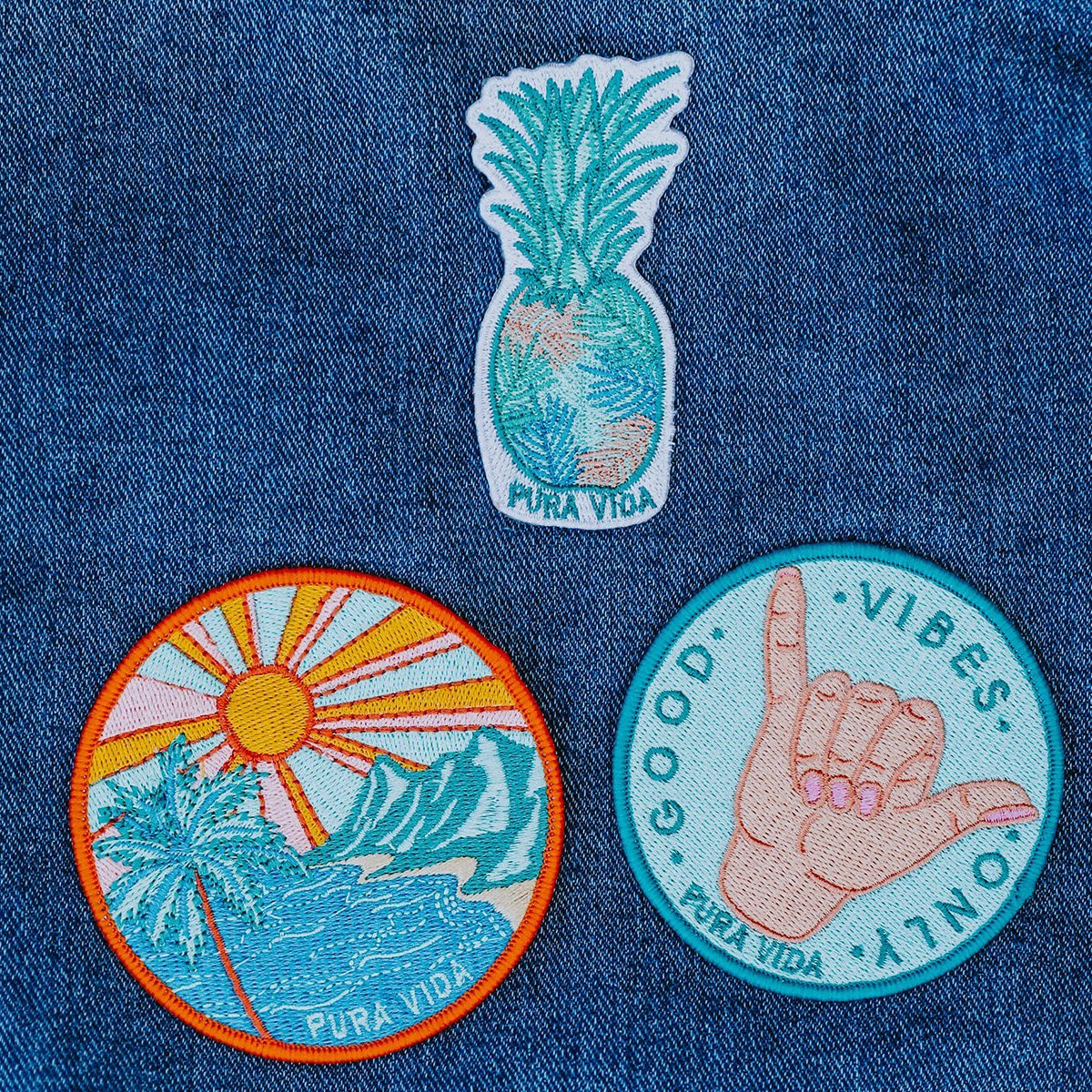 Good Vibes Patch 5
