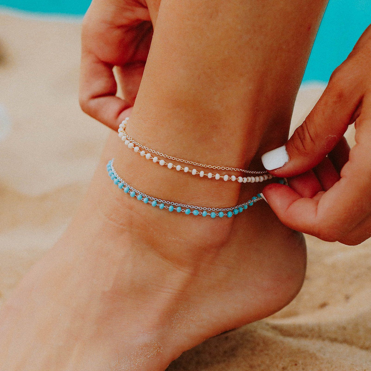 Beaded Chain Anklet 3