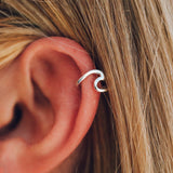 Wave Ear Cuff Image 2