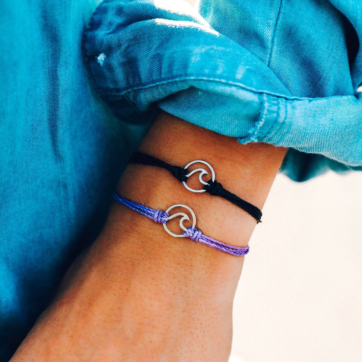 Silver Wave Charm 7