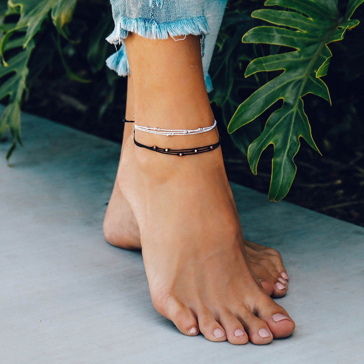 Rose Gold Malibu Anklet 3