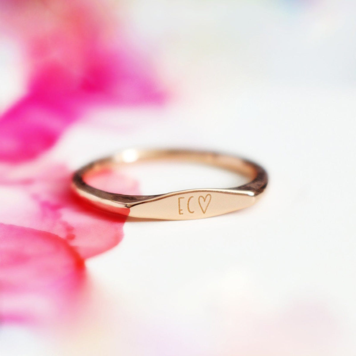 Engravable Stacking Ring 3