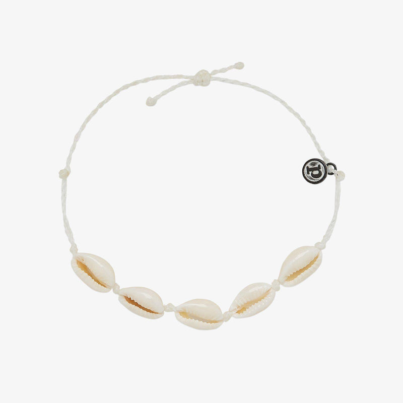 Knotted Cowries Anklet 1