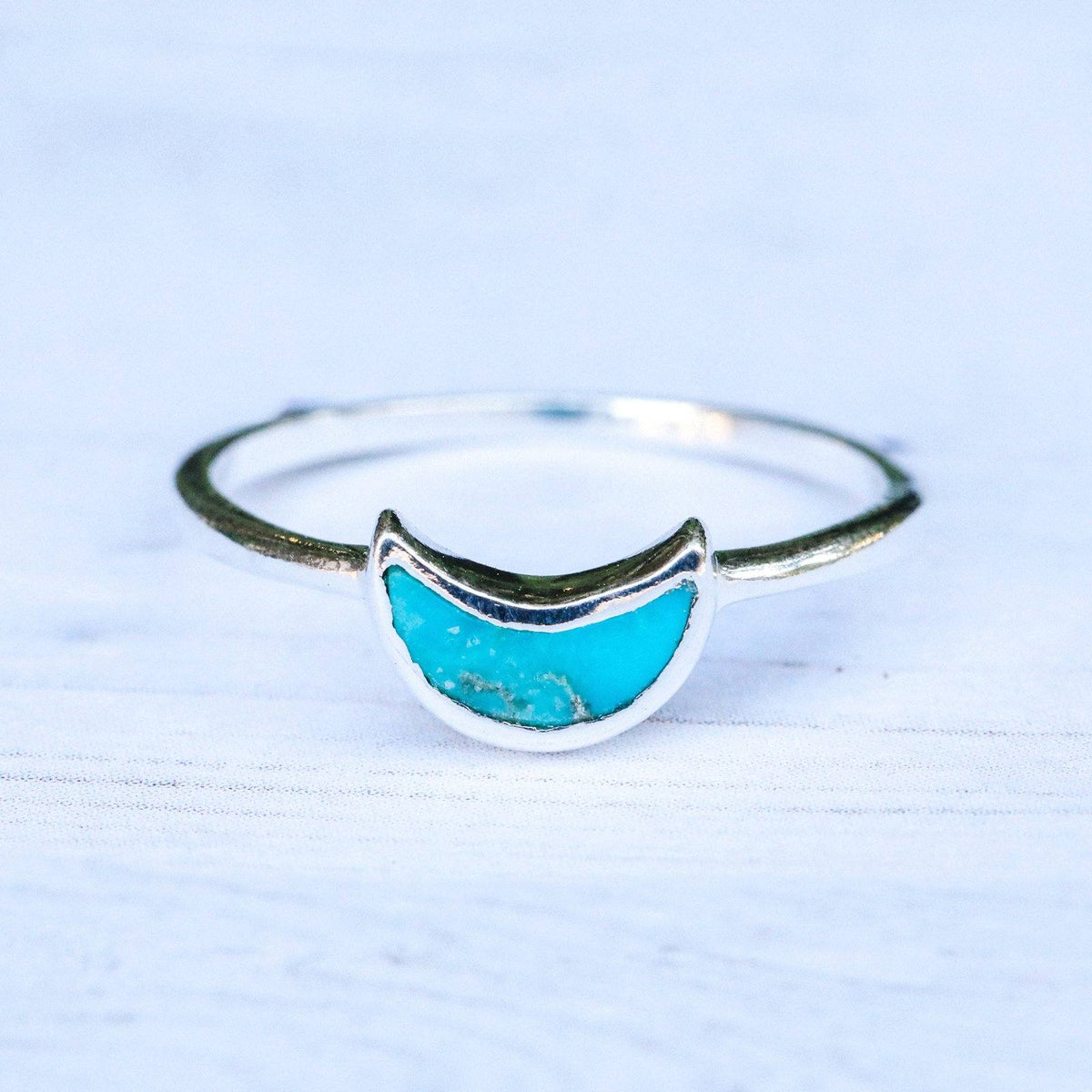 Crescent Moon Ring 4