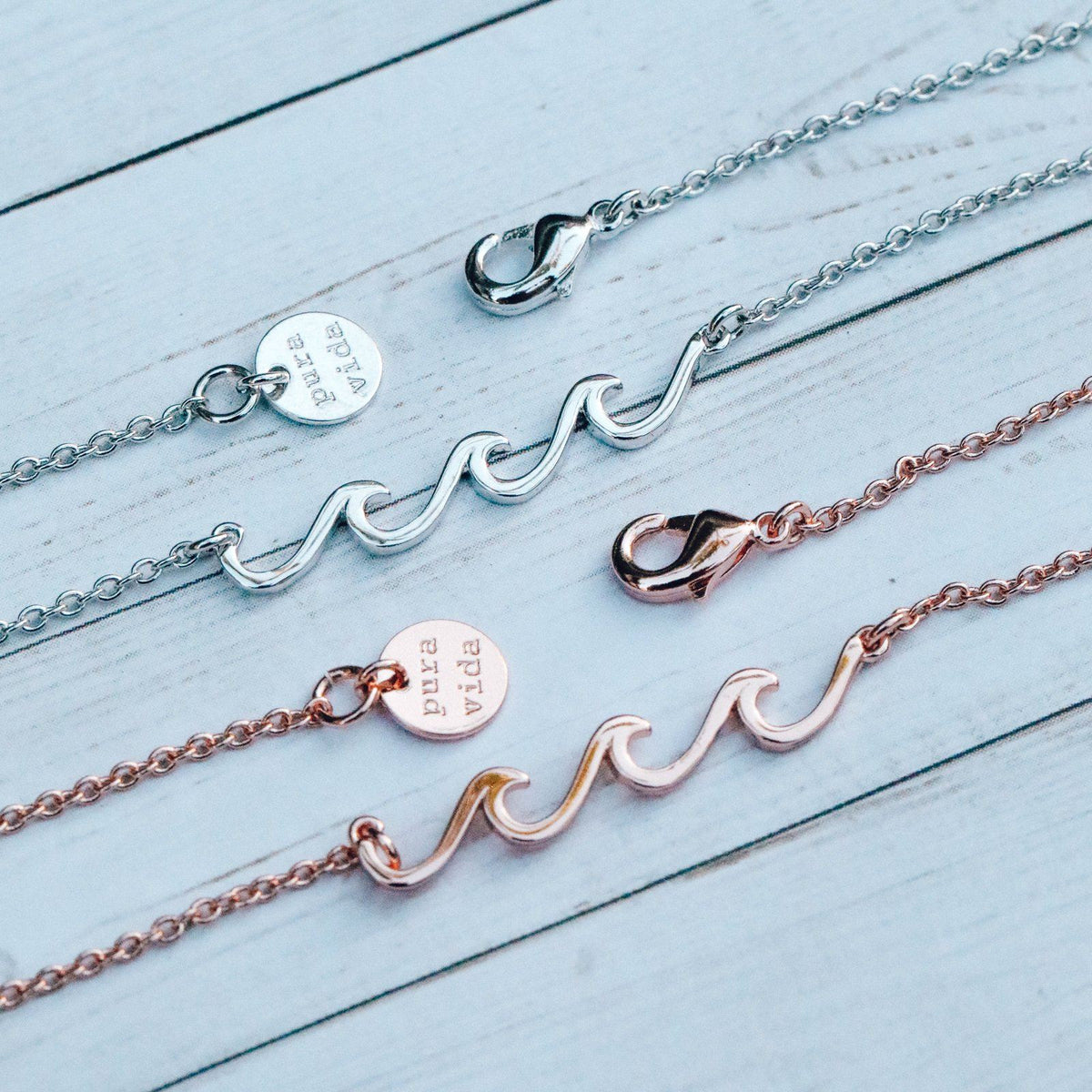 Delicate Wave Necklace 8