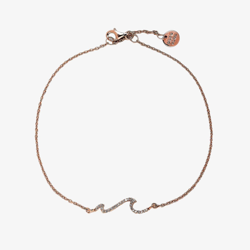Beach Wave Anklet