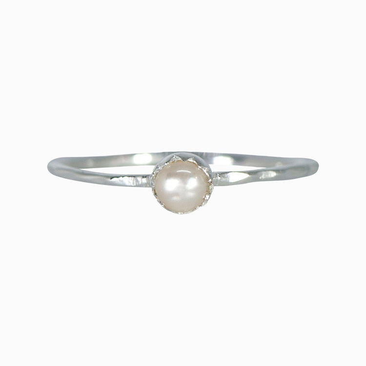 Pearl Stackable Ring