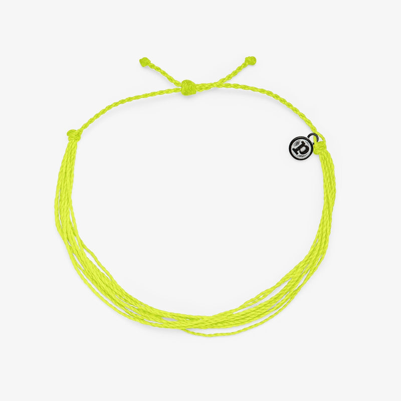Neon Yellow Anklet 1
