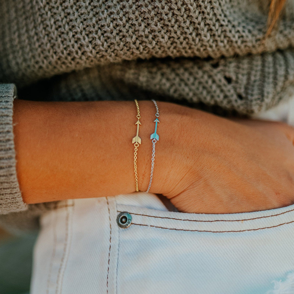 Arrow Chain Bracelet 4