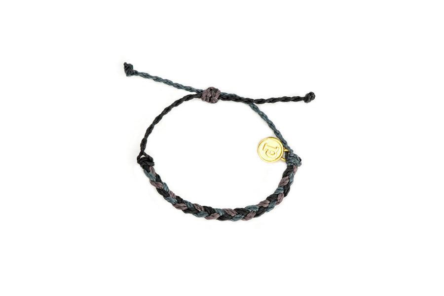 Baby Bracelets - Midnight Thunder Baby Braided