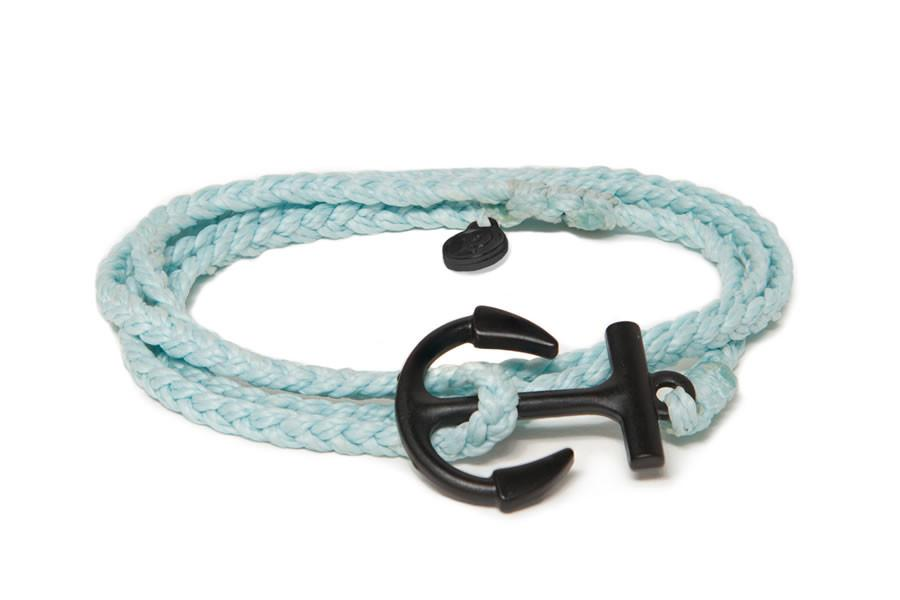 Black Anchor Ice Blue