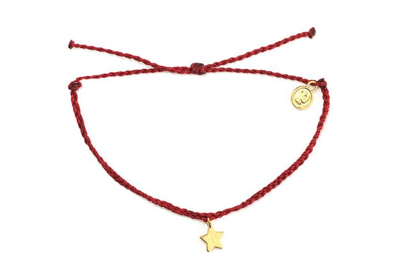 Gold Charms - Gold Bitty Star Candy Apple Red