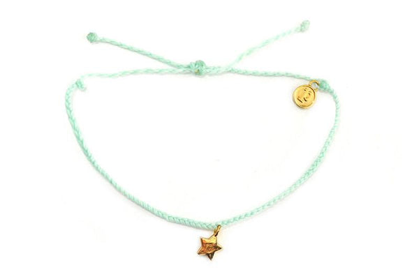 Gold Charms - Gold Bitty Star Seafoam