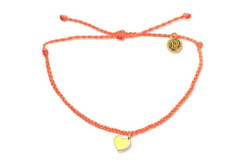 Gold Bitty Heart Coral