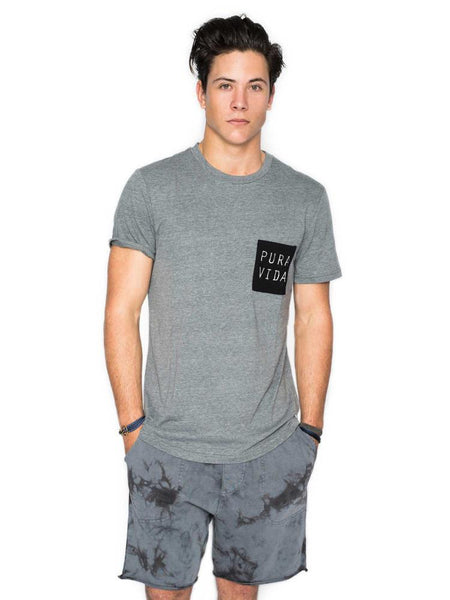Perdido Tee - Heather Grey