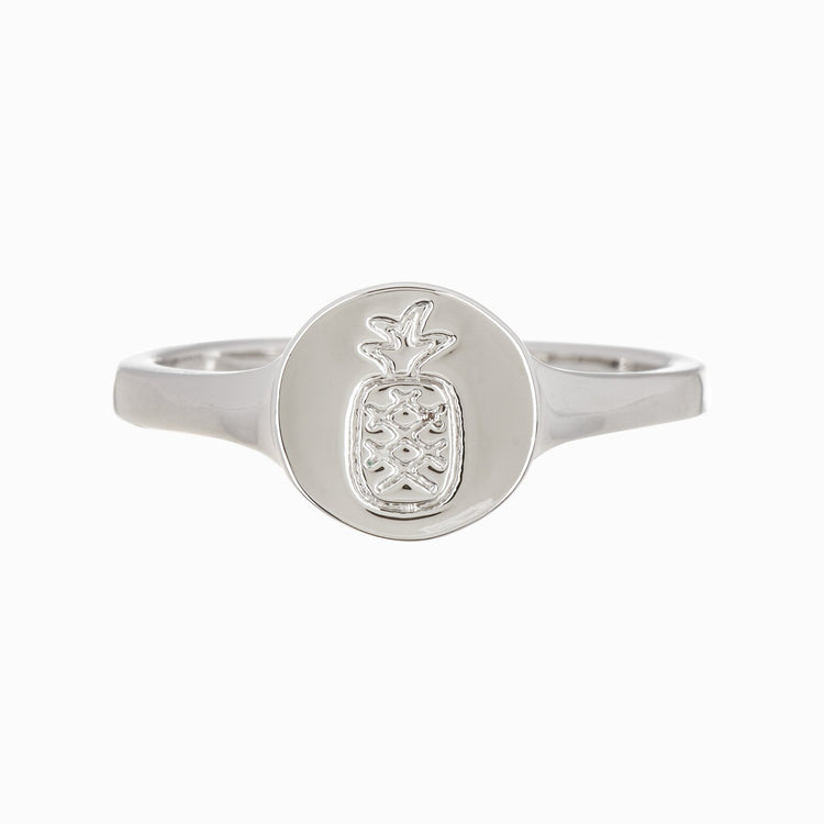 Pineapple Coin Ring