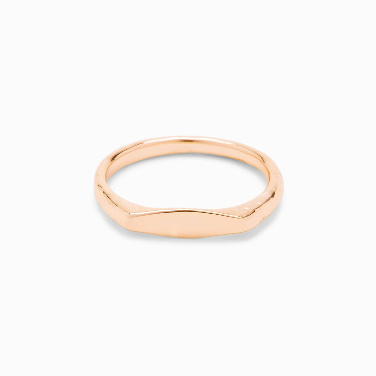 Engravable Stacking Ring 1