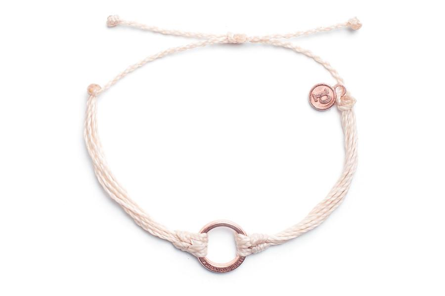 Rose Gold Circle Vanilla