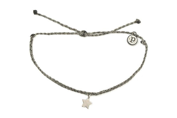 Silver Charms - Silver Bitty Star Dark Grey
