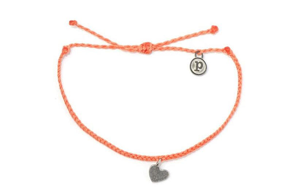Silver Bitty Heart Coral