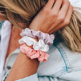 Sunset Scrunchies (Set of 3) Image 2